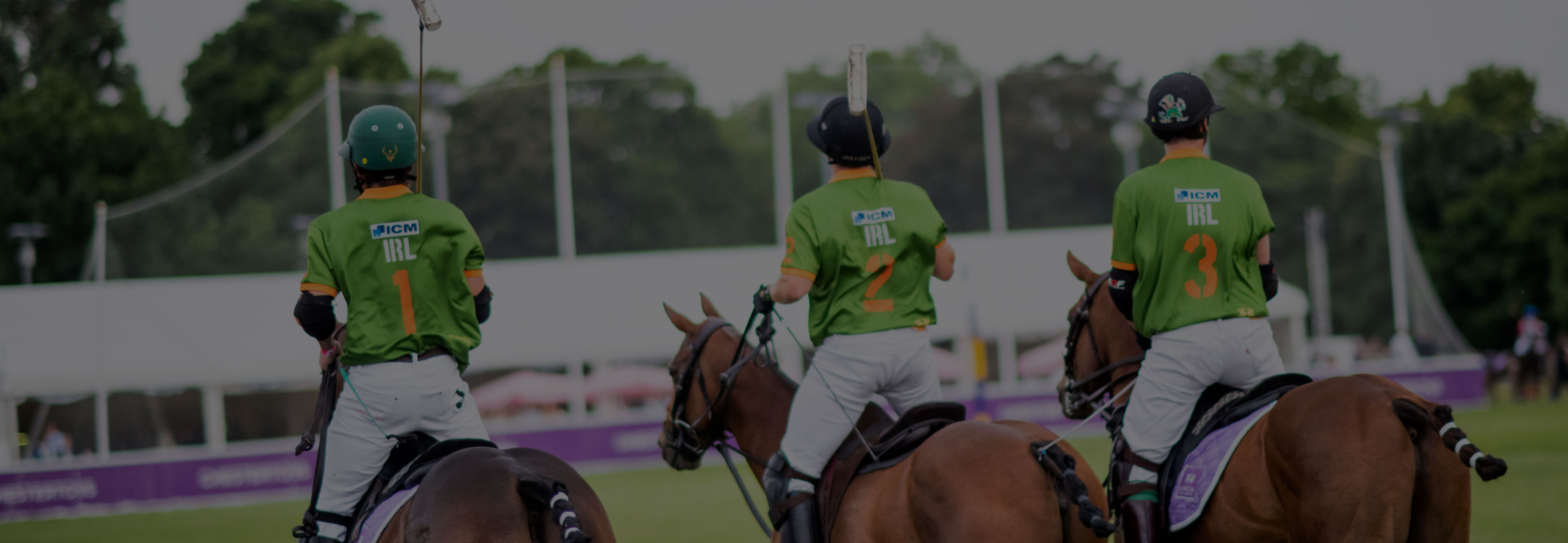 ICM sponsorship to England Polo Team