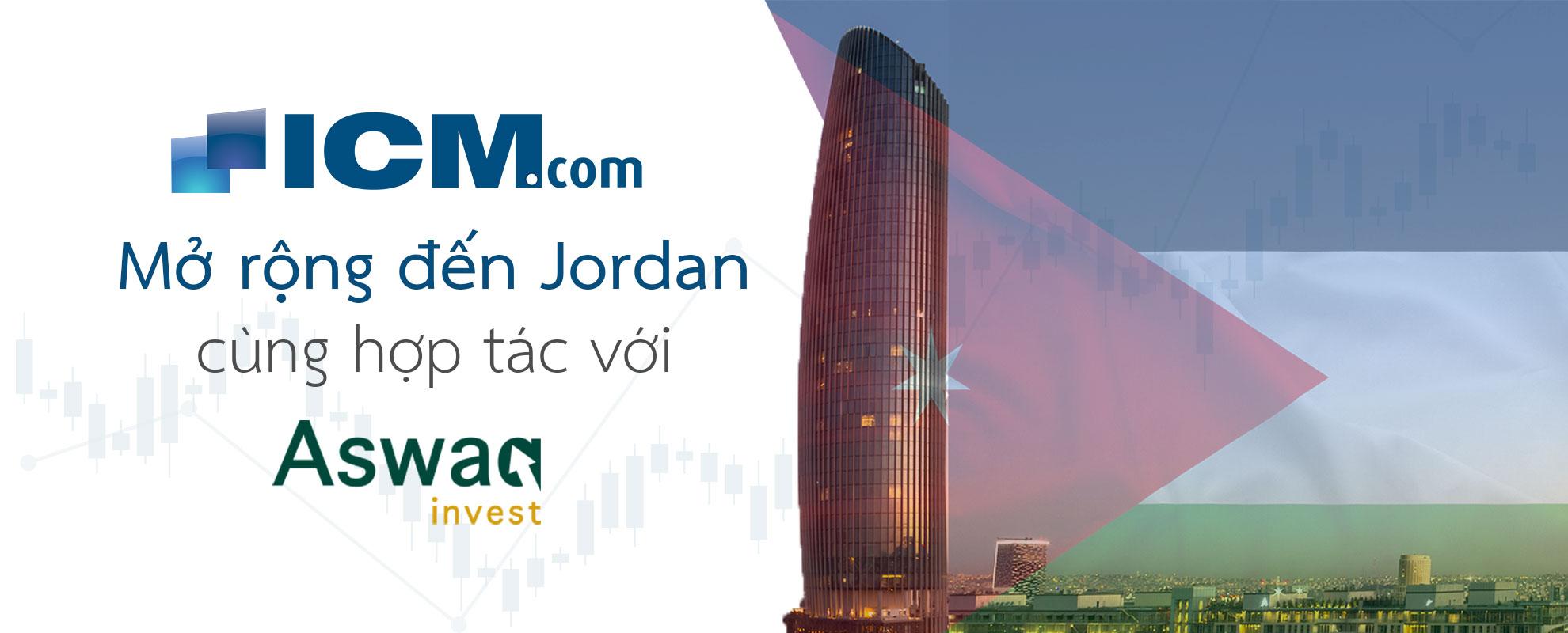 ICM.com tăng cường sự hiện diện ở Trung Đông với Quy định của Jordan