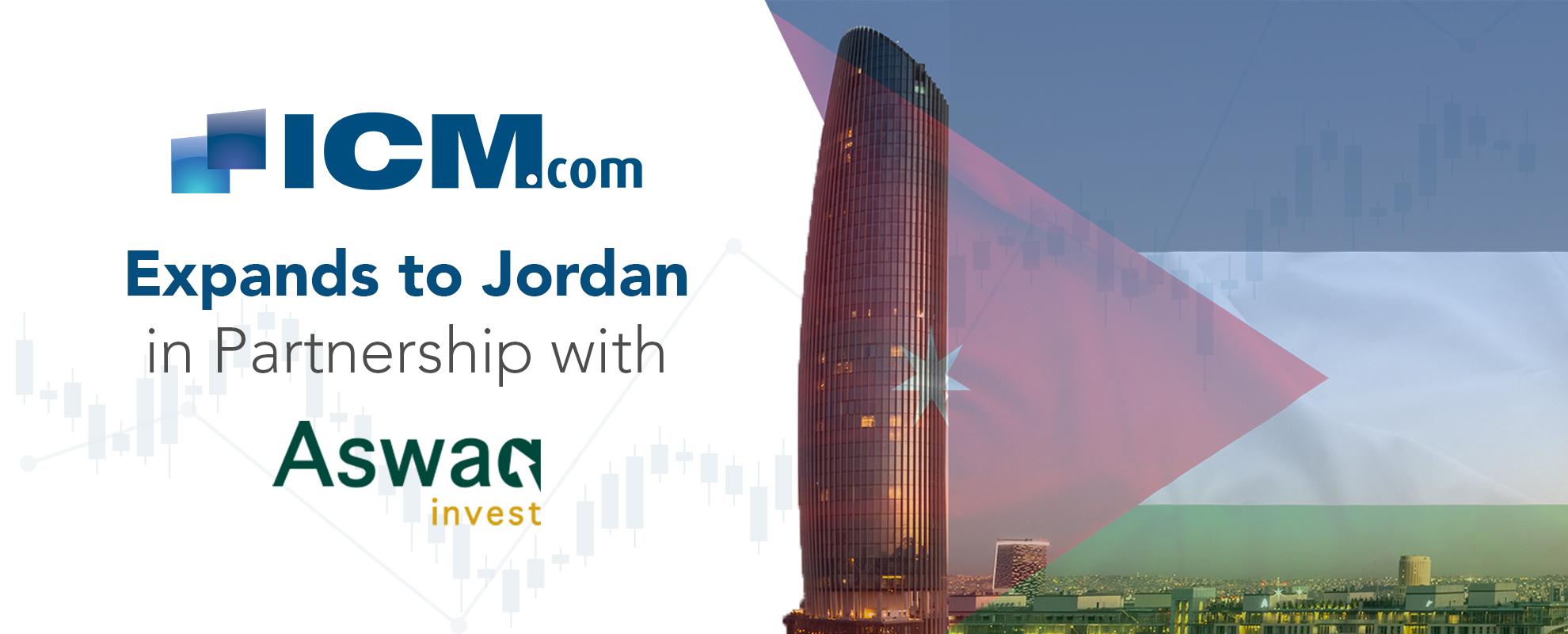 ICM.com Enhances Middle East Presence with Jordan Regulation